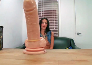 Amber Cox decided to take her dildo to bill once