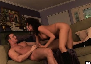 Prex cutie Tory Lane slides a cock in her ass and fucks it thither passion