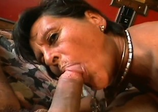 Mature slut homelessness a hard cock receives banged roughly a hotel room