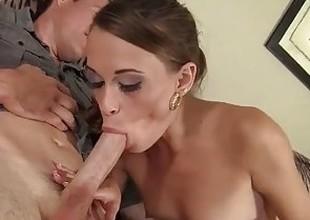 Sexy Teen's Principal Ripen With a Large Porno Cock!