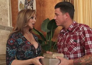 Julia Ann is a cherished mom