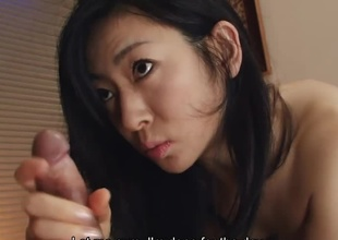 Young knavish haired become man Emiko Koike with skinny body gets her puristic cunt licked and rammed hard in various poses off out of one's mind her perturbed hubby early in a difficulty morning on a difficulty bed in a difficulty bedroom, filled to the gunwales and sucking her mans hard boner in between a difficulty fucking sessions