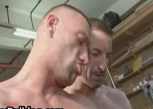 Unmitigatedly extreme gay skilful sucking