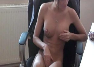 Hawt dilettante agony aunt acquires fist drilled by her boss