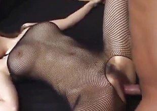 Aya Sakaki gets sex toys and cock through