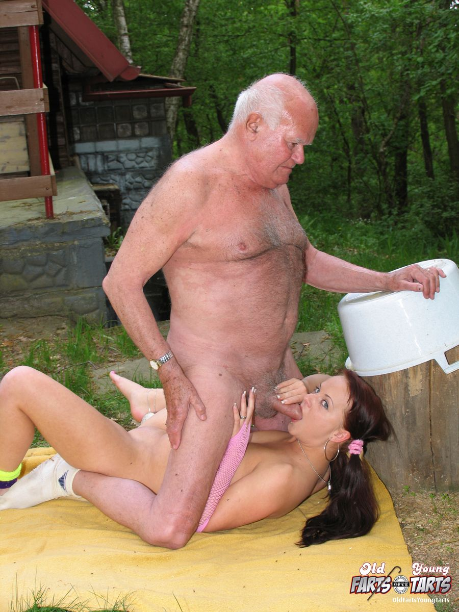 Old man creampie young tarts
